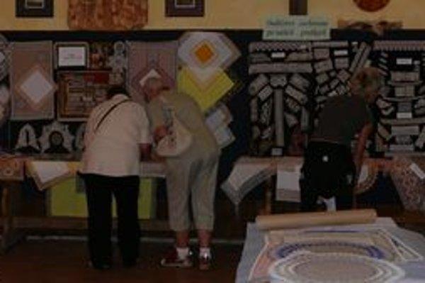 V Španej Doline bol uplynulý víkend v znamení čipky.
