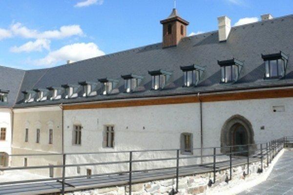 Vígľašský zámok po rekonštrukcii.