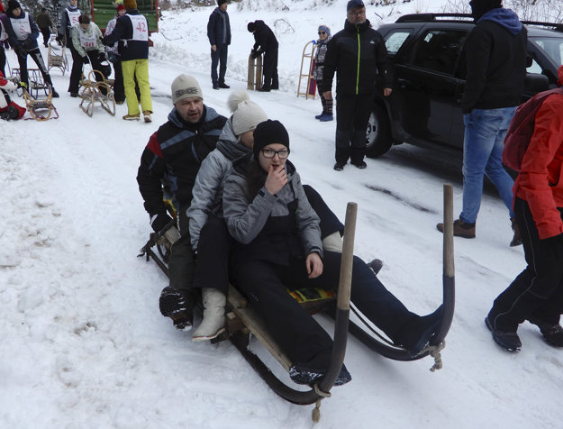 Trať v dĺžke 2,7 kilometra si vyskúšalo približne 70 súťažiacich v ôsmich kategóriách.