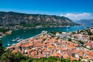Mesto Kotor v Čiernej Hore