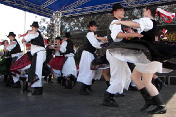 Hudbou a folklórnym tancom žil Zvolen tri dni.