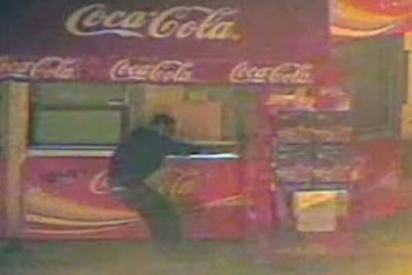 Záznam z policajnej kamery