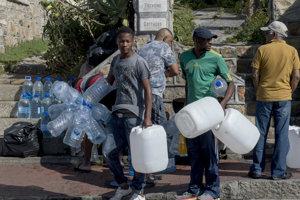 Kapské mesto znižuje limit na vodu.