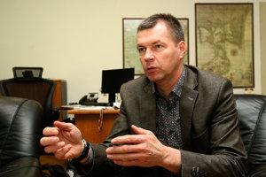 Riaditeľ štátny podnik Lesy Slovenskej republiky Marian Staník.