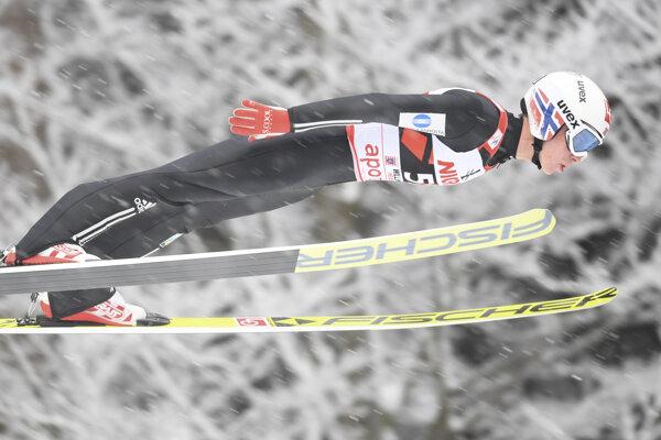 Johann André Forfang skákal v nedeľu najlepšie.