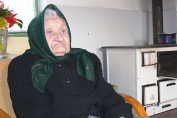 Mária Výbohová zo Zvolenskej Slatiny sa narodila 26. januára 1911.