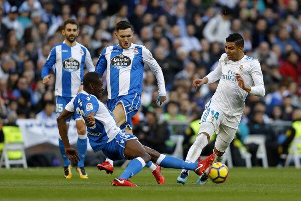 Hráči Deportivo La Coruňa. (Ilustračná fotografia)