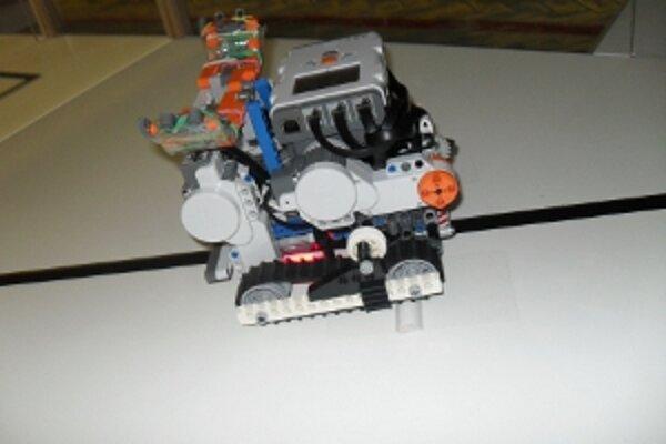 Víťazný robot zo Zvolena.