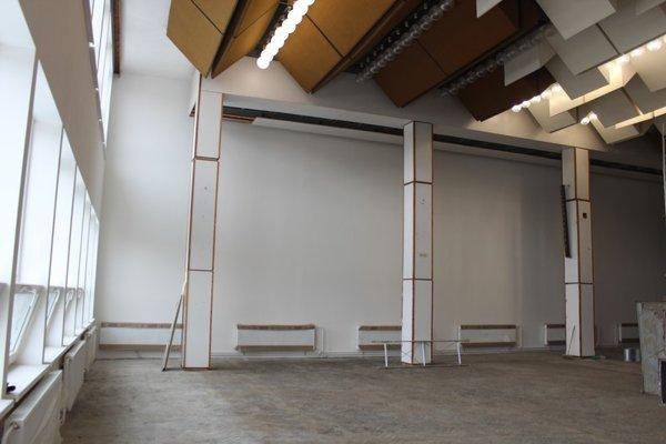 Kultúrne stredisko. Obnovou teraz prechádza interiér.