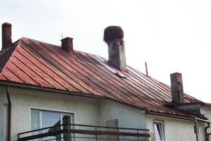 Toto je vraj najstaršie existujúce bocianie hniezdo na Orave.