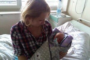 Sebastian bol prvým dieťatkom narodeným v žilinskej nemocnici.
