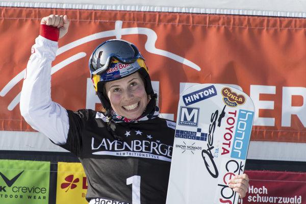 Eva Samková bude v Pjongčangu obhajovať zlato v snoubordkrose zo Soči 2014.