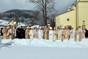 Počas slávnosti v Ľutine.