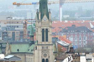 Kostol Nanebovzatia Panny Márie známy aj ako Blumentálsky kostol.