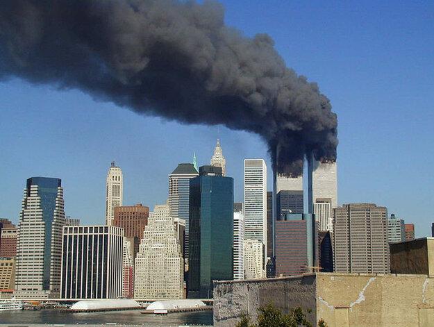 Horiace World Trade center - jeden z cieľov útokov.