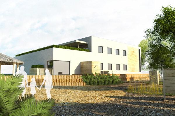 Takto bude vyzerať prvá lesná škola na Slovensku. V závere roka 2019 ju otvoria v Leviciach.