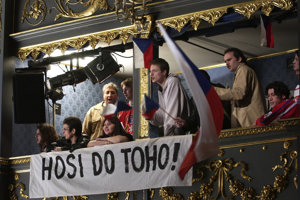 Opera Nagano je o českých hokejistoch.