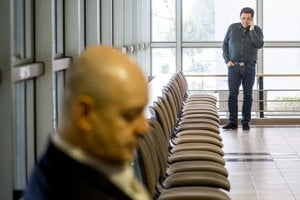 Pavol Rusko a Marián Kočner na Okresnom súde Bratislava V.