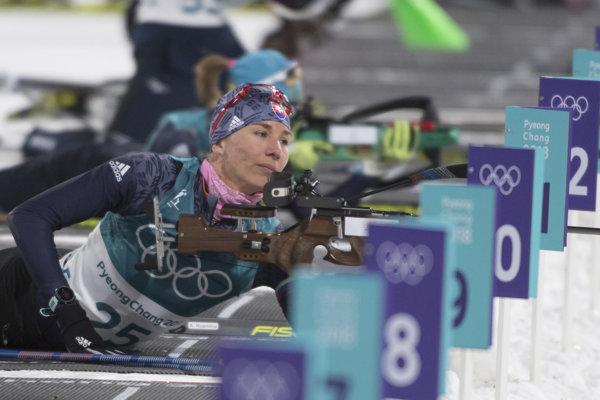 Anastasii Kuzminovej sa v šprinte nedarilo na streľbe, keď urobila až tri chyby.