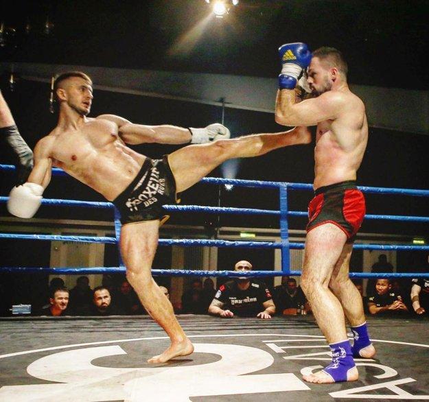 Pišta Mészáros v ringu dominoval.