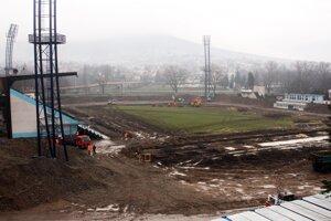 Štadión by mali dokončiť do štartu novej sezóny.