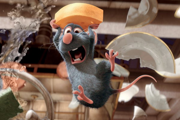 Rozprávku Ratatouille odvysiela televízia Joj.