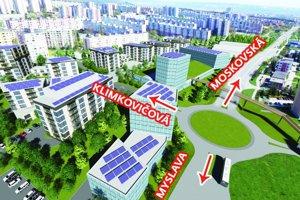Zámer za 65 miliónov eur. Sľuboval byty, obchodné priestory, športoviská izeleň.