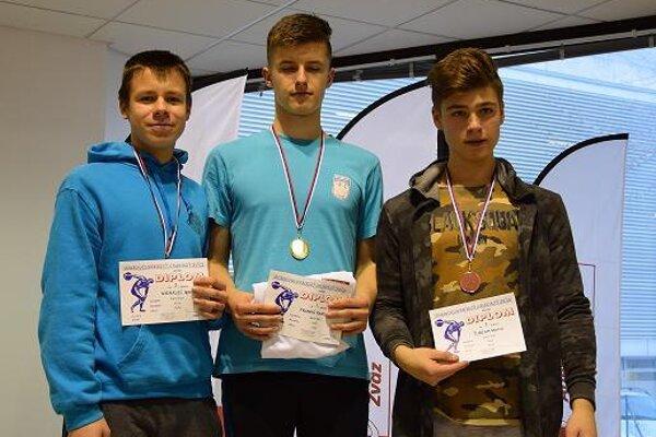 Radoslav Franko (v strede)