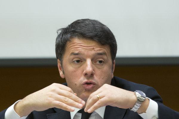 Taliansky premiér Matteo Renzi.