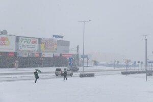 Nasnežilo aj v Žiari.