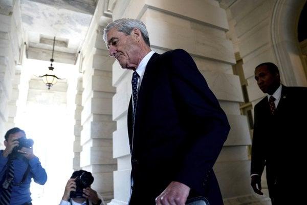 Vyšetrovateľ Robert Mueller.