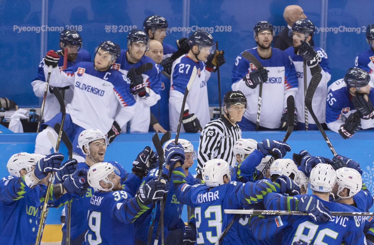 6f5c251ed Slovensko : Slovinsko - Online - Hokej - ZOH 2018 - Šport SME