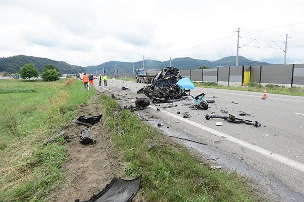 Pri nehode koncom júla pri Plevníku-Drienovom zomrela mladá žena.