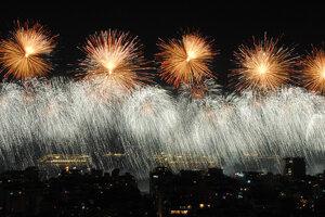 Novoročný ohňostroj v Rio de Janeiro