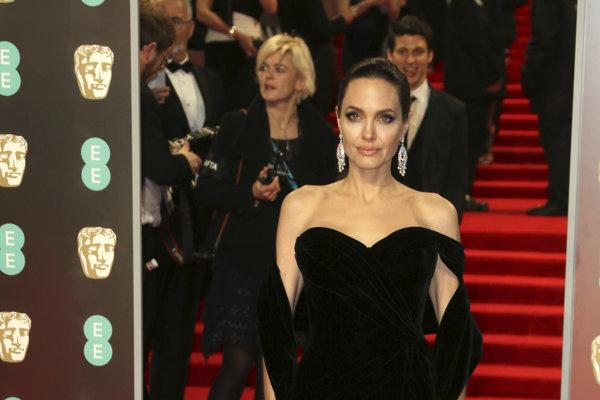Angelina Jolie na BAFTA 2018