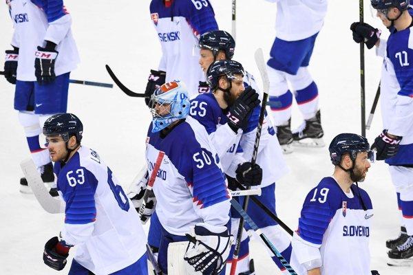Slovenskí hokejisti sa lúčia s olympijským hokejovým turnajom.