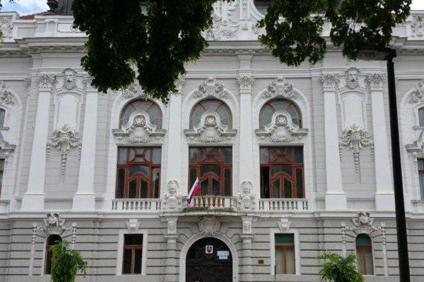 Historická budova bývalého Župného domu.