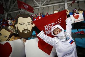 68a1c7c8b Pozrite si momentky z finálového zápasu Olympijskí športovci z Ruska -  Nemecko (43 fotografií)