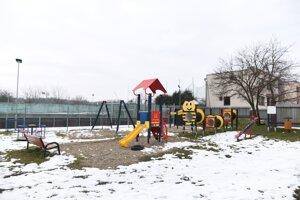 Detské ihrisko.