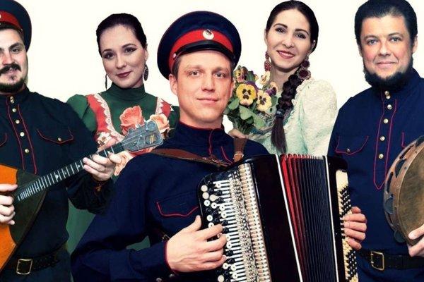 Donský kozácky chór Volnij Don.