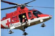 K nehode privolali vrtuľník, ten sa napokon vrátil na základňu.