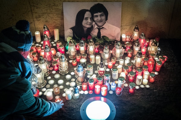 Približne 70 terabajtov dát zadržala a archivovala polícia pri vyšetrovaní vraždy Jána Kuciaka a Martiny Kušnírovej.