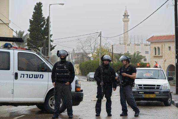 Izraelská polícia (ilustračné foto).