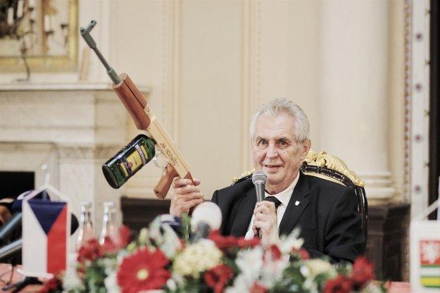 Prezident Zeman.
