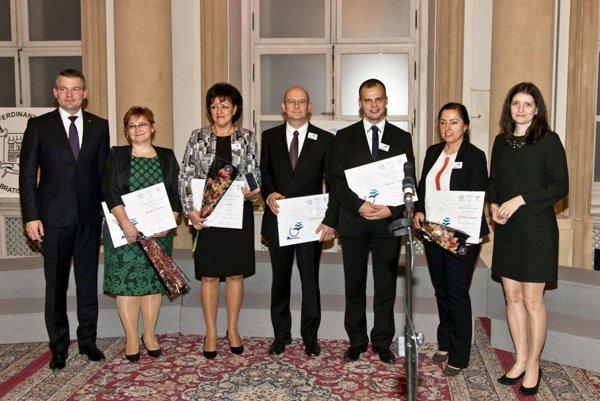 Ocenenie prevzal za mesto viceprimátor Ján Králik