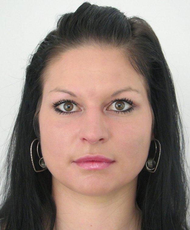 Hľadaná Silvia Gažovičová.