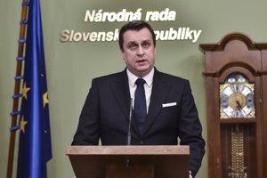 Predseda Národnej rady SR Andrej.