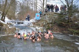 Relax v studenej vode Istebnianky.