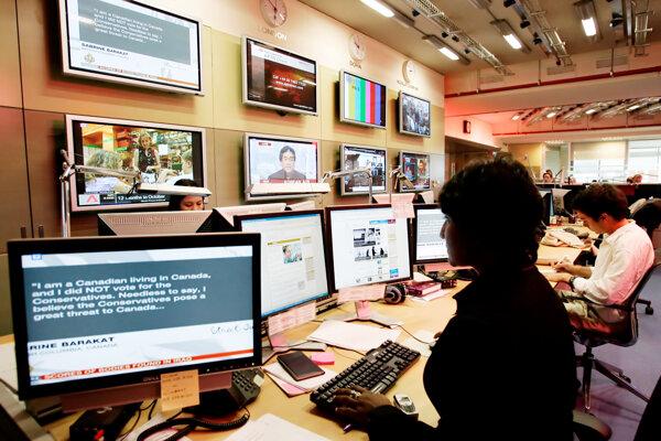Sídlo televízie al-Džazíra v Malajzii.