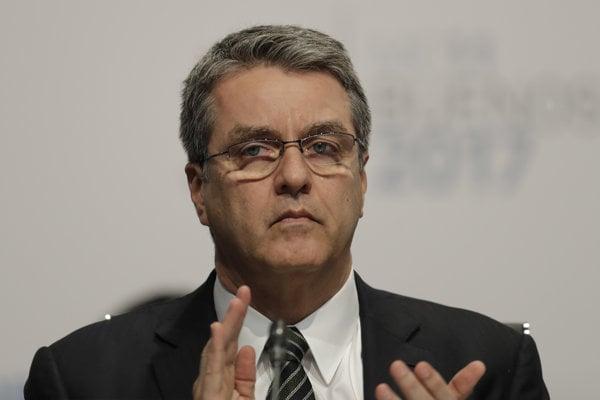 Šéf Svetovej obchodnej organizácie (WTO) Roberto Azevedo.